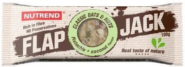 Батончик протеиновый Nutrend Flap Jack 100 г (фисташка+кокос)