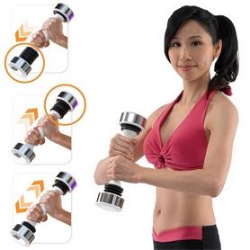 Фото 3 к товару Гантель женская Shake Weight 2,5 фунта