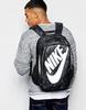 Рюкзак городской Nike Hayward Futura 2.0 Prin темно-серый - фото 3
