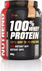 Протеин Nutrend 100% Whey Protein 900 г (малина)