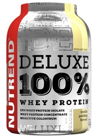 Протеин Nutrend Deluxe 100% Whey 2250 г (ванильный пудинг)