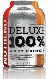 Протеин Nutrend Deluxe 100% Whey 900 г (булочка с корицей)