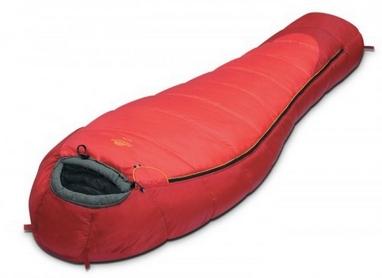 Мешок спальный (спальник) для треккинга Alexika Nord - right красный