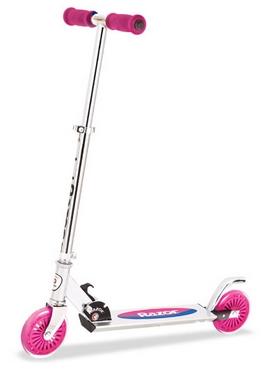 Самокат складной Razor Scooter A125 Al розовый