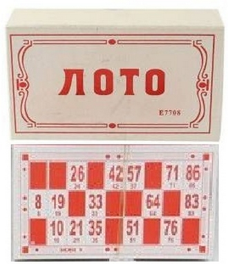 Игра настольная Лото E7708