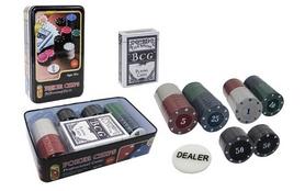 Набор для игры в покер, 80 фишек с номиналом IG-4590