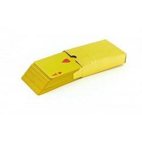 Фото 2 к товару Карты игральные с пластиковым покрытием Gold 100 Dollar IG-4566-G(BR)