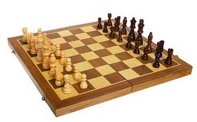 Фото 2 к товару Набор настольных игр 3 в 1 (шахматы, шашки, нарды) W2408