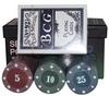 Набор для игры в покер, 60 фишек с номиналом 701828 - фото 1
