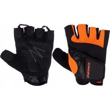 Перчатки для фитнеса Demix Fitness gloves D-310 оранжевые S