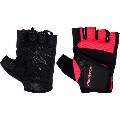 Перчатки для фитнеса Demix Fitness gloves D-310 розовые S