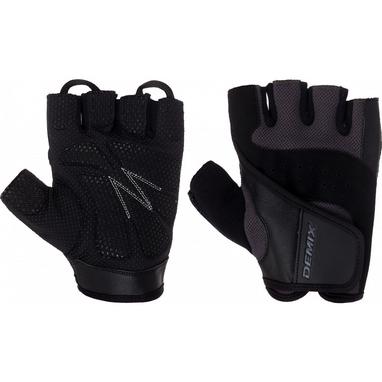 Перчатки для фитнеса Demix Fitness gloves D-310 серые XXL