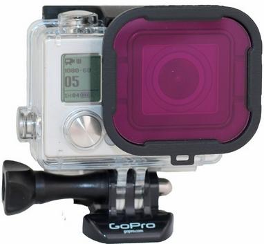 Фильтр GoPro Hero3+ Magenta (P1002)