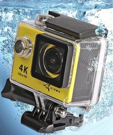 Фото 4 к товару Экшн-камера Airon ProCam 4K yellow