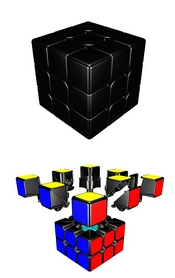 Фото 4 к товару Кубик Рубика 3х3 Moyu Guanlong