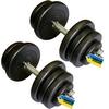Гантели наборные стальные Newt Home 2 шт по 25,5 кг - фото 1