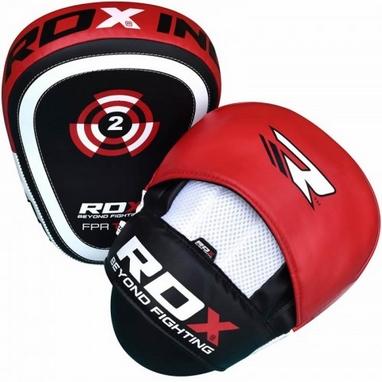 Лапы боксерские RDX Gel Focus Red (2 шт)