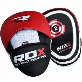 Фото 2 к товару Лапы боксерские RDX Gel Focus Red (2 шт)