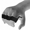 Накладки для подтягивания RDX Leather Black - фото 4