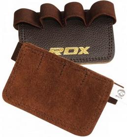 Накладки для подтягивания RDX Leather Brown