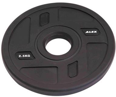 Диск олимпийский полиуретановый 2,5 кг Alex - 51мм