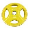 Диск олимпийский полиуретановый 15 кг Stein DB6092-15 с хватами цветной - 51мм - фото 1