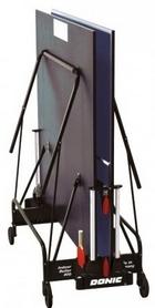 Фото 3 к товару Стол теннисный Donic Indoor Roller 400