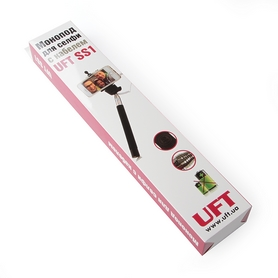 Фото 5 к товару Монопод для селфи со шнуром UFT SS1 Light Green