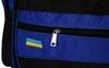 Сумка спортивная DUFFLE BAG UKRAINE GA-4633 (PL, р-р 50х19,5х24см, черный-синий) - фото 2