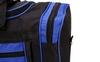 Сумка спортивная DUFFLE BAG UKRAINE GA-4633 (PL, р-р 50х19,5х24см, черный-синий) - фото 3