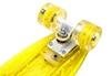 Пенни борд Penny Board Luminous PU SK-5357-2 (желтый) - фото 2