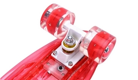 Фото 3 к товару Пенни борд Penny Board Luminous PU SK-5357-4 (красный)