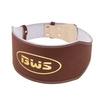 Пояс штангиста BWS-6PUBRW широкий коричневый - фото 1