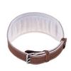 Пояс штангиста BWS-6PUBRW широкий коричневый - фото 2