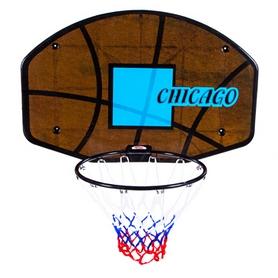 Кольцо баскетбольное со щитом Chicago CNB-1238C