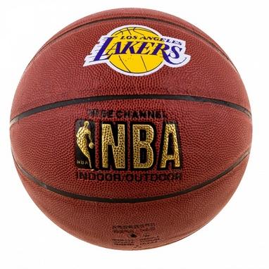 Мяч баскетбольный Spalding NBA Lakers