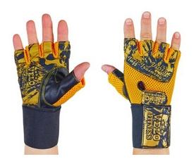 Распродажа*! Перчатки атлетические Velo VL-3224 - L