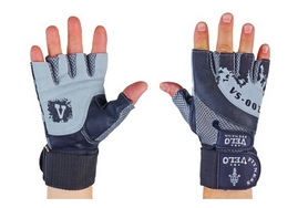 Перчатки атлетические Velo VL-8121