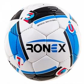 Мяч футбольный Ronex-2016 Sky/Red - №4