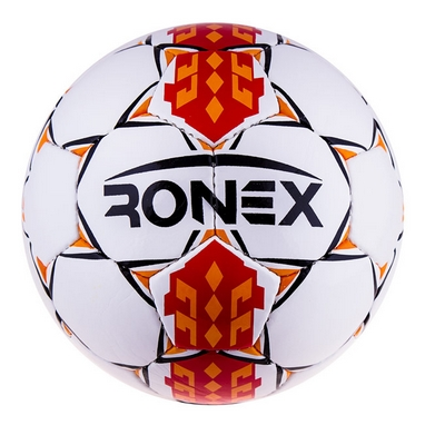 Мяч футзальный Ronex RX-HUM Duxion Red/Orange/Black