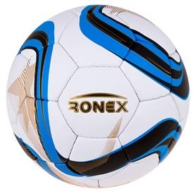 Мяч футбольный Ronex Grippy Zulu Blue/Black