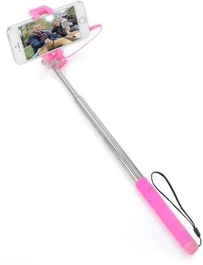 Монопод для селфи со встроенным Bluetooth UFT Nano-Stick Pink