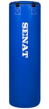Мешок боксерский Senat Elit (ПВХ) 110х34 см синий