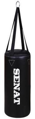 Мешок боксерский Senat (кожзам) 50х22 см черный