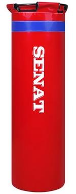 Мешок боксерский с кольцом Senat Elit (ПВХ) 100х30 см красный