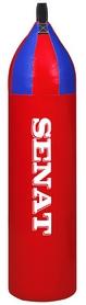 Мешок боксерский шлемовидный Senat (ПВХ) 88х22 см красно-синий