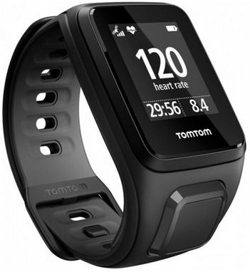 Часы спортивные Tom Tom Runner 2 Cardio Scuba Black/Anthracite (L)