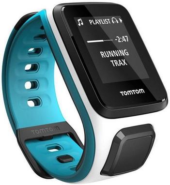 Часы спортивные TomTom Runner 2 GPS Watch White/Light Blue (S)