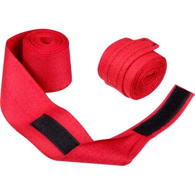 Бинты боксерские Senat (3м) красные (2 шт)