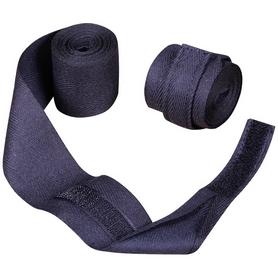 Бинты боксерские Senat (3м) черные (2 шт)